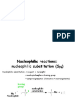 Nucleophilic Reactions