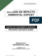 Estudio de Impacto Ambiental-Centrofaenamiento