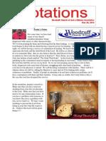 Newsletter 5.28.13