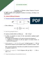 3308637 Cours n3 LES FILTRES Passifs