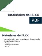 Materiales Del S.XX
