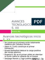 Avances Tecnologicos Inicio S.XX