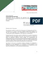 Ley de Insolvencia Familiar Contribuyentes Por RESPETO