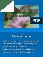 Kelainan Kongenital Ortopedi