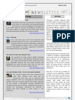 India Transport Portal Newsletter - March, 2013