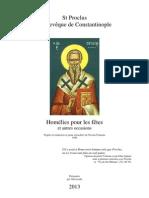 Proclus Homelies pour les Fêtes.pdf