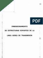 Dimensionamiento de Estructuras Soportes