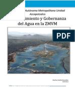 Abastecimiento y Gobernanza Del Agua en La ZMVM FINAL