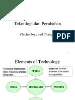 M2-Teknologi Dan Perubahan