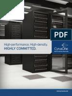 Cyrusone Data Center Services Spec Sheet 2012