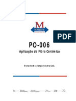 PO 006 AplicacaoFibraCeramica Rev01