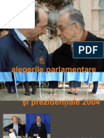 Raport IPP Alegeri Parlamentare 2004