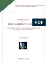 Curriculum Gimnazial