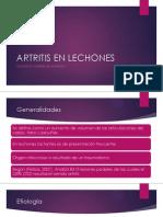 Artritis en Lechones