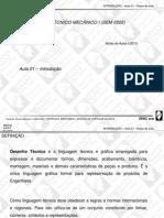 Apostila de desenho tecnico - introdução aula 1