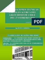 Sismo Chile 2010