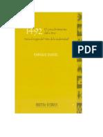 Enrique Dussel- 1492 El Encubrimiento Del Otro