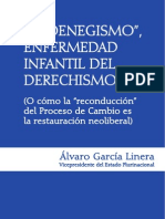 El-oenegismo Alvaro Garcia Linera