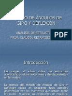 Método de Ángulos de Giro y Deflexión