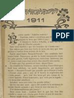 Reclams de Biarn e Gascounhe. - Yéné 1911 - N°1 (15e Anade)