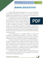 Programa Educativo - Comunitaria