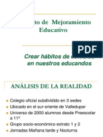 Proyectodemejoramientoeducativo2
