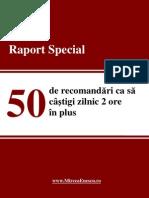 Mircea Enescu - 50 de Recomandari CA Sa Castigi Timp - 2013