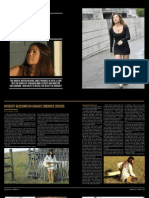 "Magazine Interview/Pictorial on ""Tara Browne in EMPIRICAL MAGAZINE, California, USA"