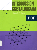 Introducción A La Cristalografía