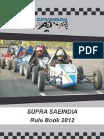 Suprasaeindia Rulebook 2012