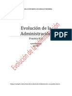 Evolución de la Administración