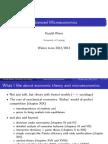 Advanced Microeconomic