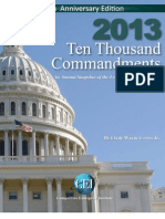 Wayne Crews - Ten Thousand Commandments - An Annual Snapshot of the Federal Regulatory State - 2013