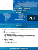 Imf Weo April 2013