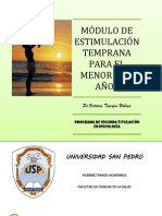 ESTIMULACION TEMPRANA Contenidos Modulo Final