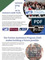 2013 APC Colleges Advocacy Postcard - Jamestown Business College