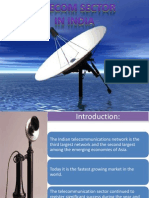 Telecom Sector in India