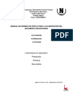 Normas de Estilo 2012-2013