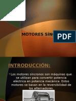 MOTORES SÍNCRONOS