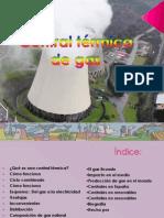 Central térmica de gas