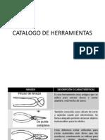 Catalogo de Herramientas