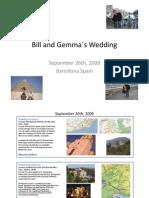2009 - 0311Bill and Gemma´s Wedding