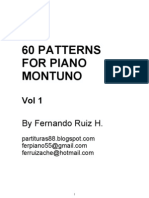 60 Patterns for Piano Montuno