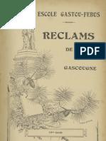 Reclams de Biarn e Gascounhe. - Préface 1912 - N°1 (16e Anade)