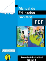 diseño programa educación sanitaria