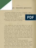 Reclams de Biarn e Gascounhe. - Yéné 1912 - N°1 (16e Anade)