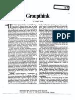 Janis Groupthink