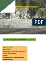 Pedologija - hemijske osobine zemljista