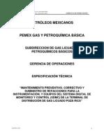 Plc y GAS_Especs DSR970IR12043 MttoControl