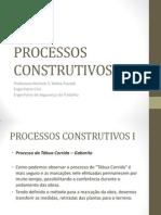 Processos Construtivos i - Aula 3